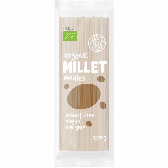 Diet Food Bio Millet Noodles hirsinuudlid (250 g)
