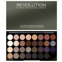 Makeup Revolution 32 Ultra Eyeshadows lauvärvipalett, Affirmation (30 g)