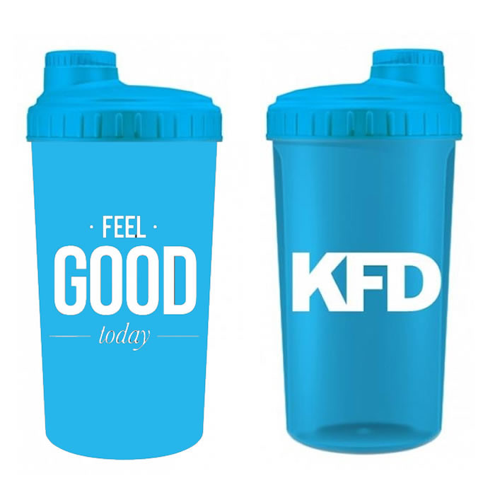 "KFD šeiker ""Feel Good"", Sinine (700 ml)"