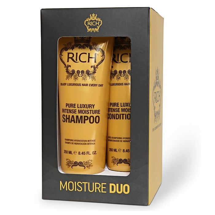 Rich Pure Luxury Moisture šampooni ja palsami komplekt (2 x 250 ml)