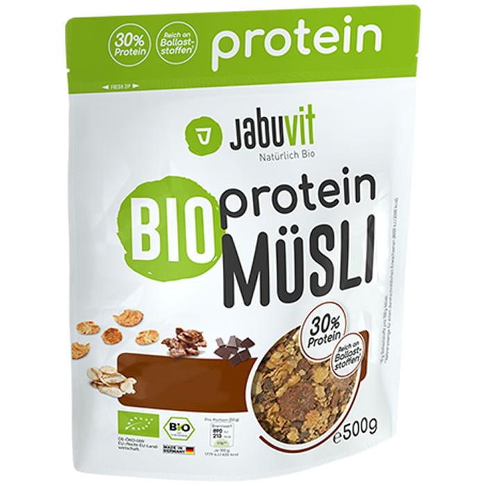 ec7a2a5b332 JabuVit Bio Protein Muesli proteiinimüsli, Õuna-vaarika (500 g). Parim enne  ...