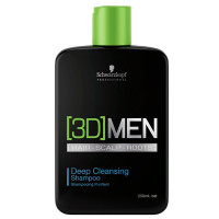 Schwarzkopf 3DMEN Deep Cleansing šampoon (250 ml)