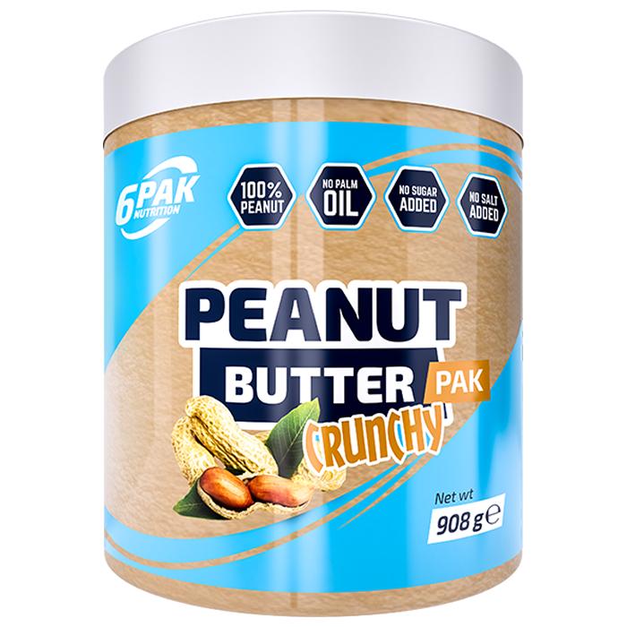 6PAK Peanut Butter PAK maapähklivõi, Crunchy (908 g)