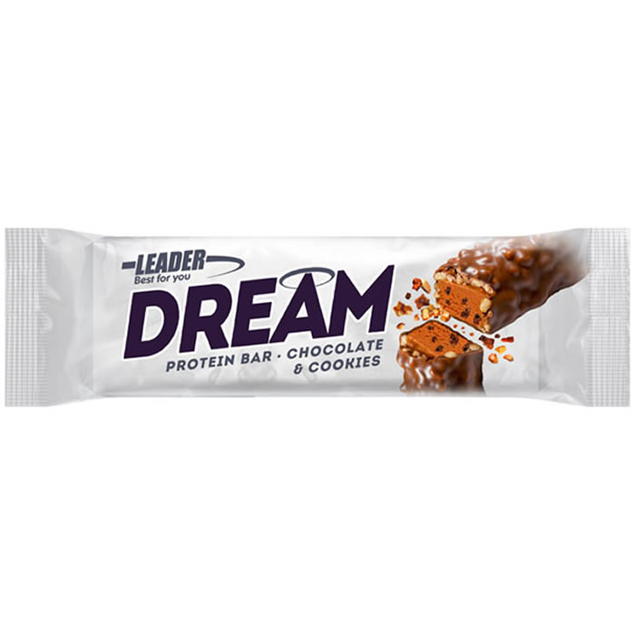Leader Dream proteiinibatoon, Šokolaadi-küpsise (45 g)