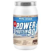Body Attack Power Protein 90 valgupulber, Kookosekreemi (1 kg)