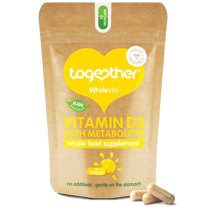 Together Health WholeVits™ Vitamin D3 1000 IU kapslid (30 tk)