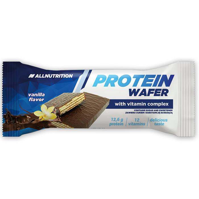 AllNutrition Protein Wafer Bar proteiinivahvel, Vanilje (35 g)