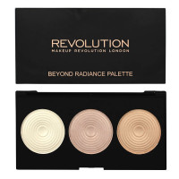 Makeup Revolution London Beyond Radiance valgustpeegeldavate puudrite palett (15 g)