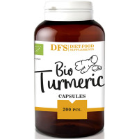 Diet Food Turmeric kurkumijuure kapslid (200 tk)