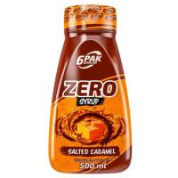 6PAK Syrup Zero siirup, Soolakaramelli (500 ml)