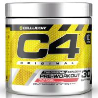 Cellucor C4 Original Pre-Workout, Fruit Punch (30 serveeringut)
