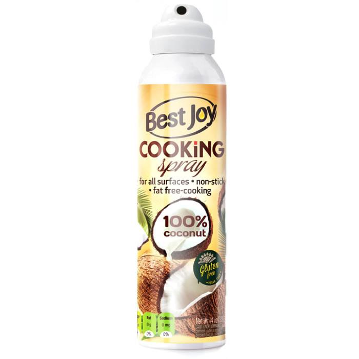 Best Joy Cooking Spray 100% Coconut küpsetussprei, Kookose (100 g)
