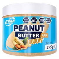 6PAK Peanut Butter PAK maapähklivõi, Crunchy (275 g)