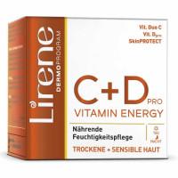 Lirene C+D 24H vitamiinikreem kuivale ja tundlikule nahale (50 ml)