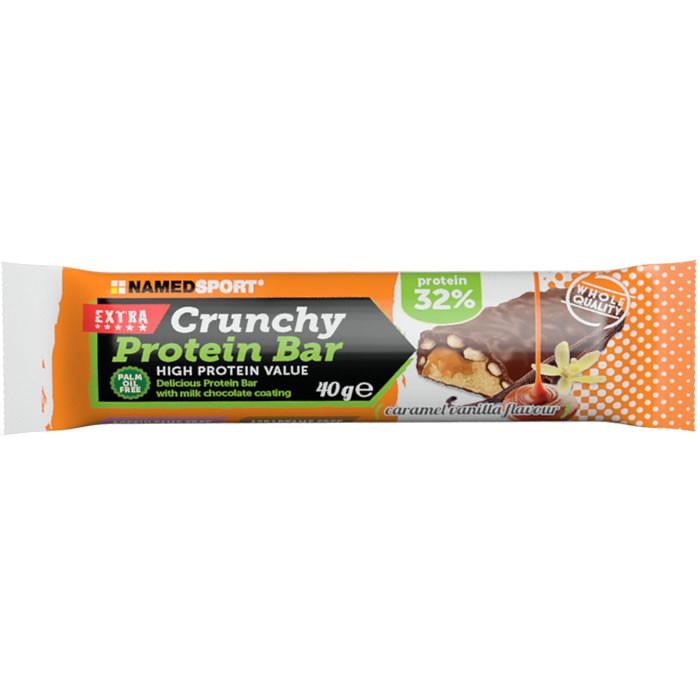 NamedSport Crunchy Proteinbar 32% valgubatoon, Caramel Vanilla (40 g)