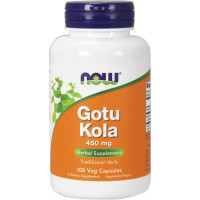 NOW Gotu Kola 450 mg kapslid (100 tk)