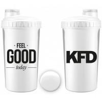 "KFD šeiker ""Feel Good"", Valge (700 ml)"