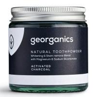 Georganics looduslik hambapulber, Valgendava aktiivsöega (120 ml)