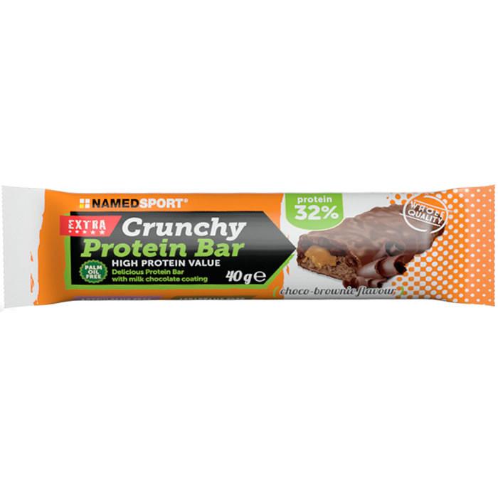 NamedSport Crunchy Proteinbar 32% valgubatoon, Choco-Brownie (40 g)