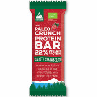 Kleen Paleo Crunch Protein Bar Vegan proteiinibatoon, Smooth Strawberry (48 g)