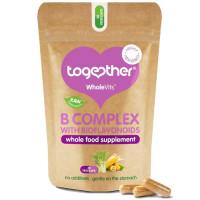Together Health WholeVits™ B vitamiinide kompleks kapslid bioflavonoididega (30 tk)