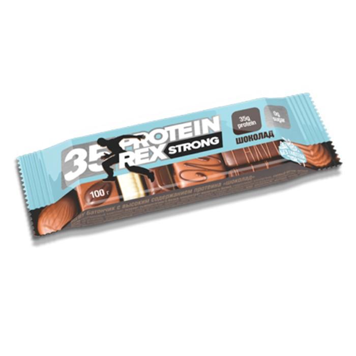 Protein Rex valgubatoon, Šokolaadi (100 g)