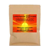 D-vitamiini D3 õlikapslid, 4000 IU (300 tk)