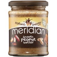 Meridian Foods maapähklivõi, Smooth (280 g)