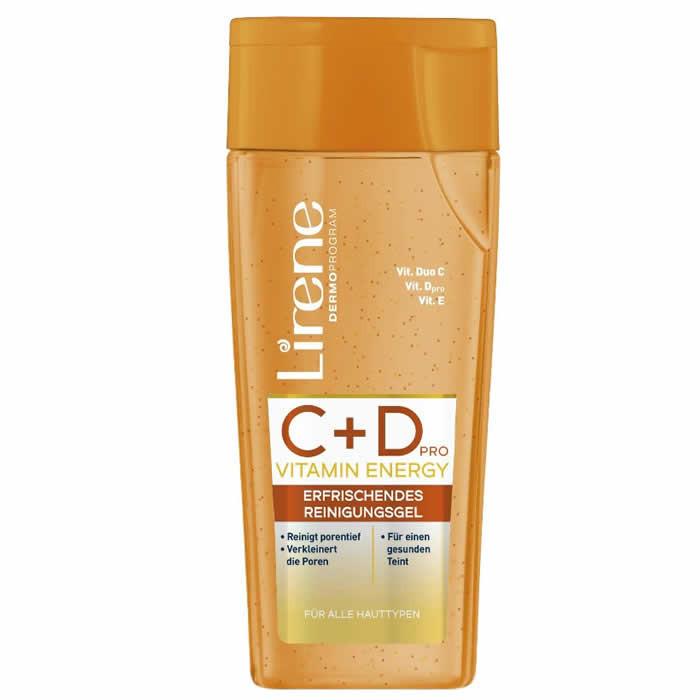 Lirene C+D värskendav puhastusgeel näole (200 ml)