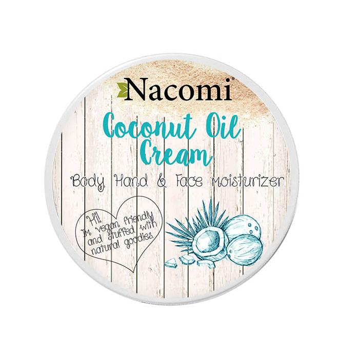 Nacomi kookosõli kreem näole, kehale ja kätele (100 ml)