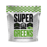 OTE Super Greens vitamiinide, mineraalide, antioksüdantide ja aminohapete segu, Lime (390 g)