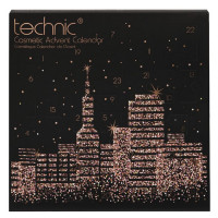 Technic City Scape advendikalender kosmeetika toodetega