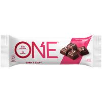 OhYeah! Nutrition ONE Bar valgubatoon, Tume šokolaad meresoolaga (60 g)